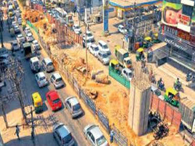 Bengaluru: Inner Ring Road flyover may be ready only by