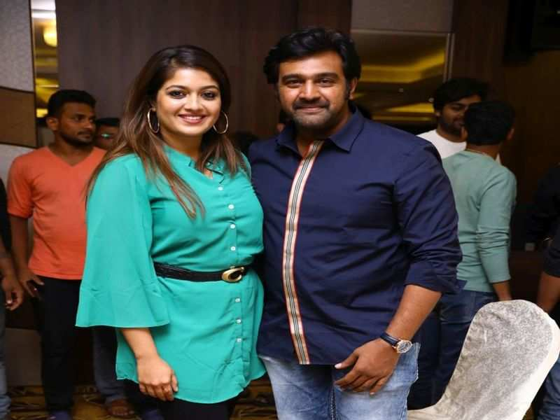 P Ravi Shankar Chiranjeevi Sarja Recalls On How His Wife Meghana Raj Is Also A Part Of Sinnga Kannada Movie News Times Of India