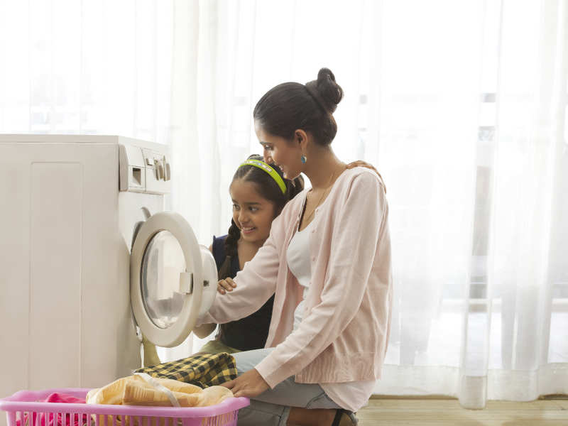 Kids who do household work are more successful! Parents, are you hearing? -  Times of India