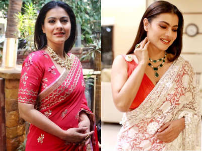 5 times Kajol looked like a dream in saris