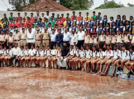 Students learn about road safety at Kolhapur's traffic park