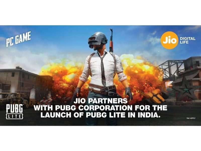 Pubg Jio Partnership Pubg Players Reliance Jio Has Good News For You Times Of India