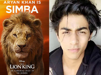 'The Lion King': SRK's son Aryan roars as Simba