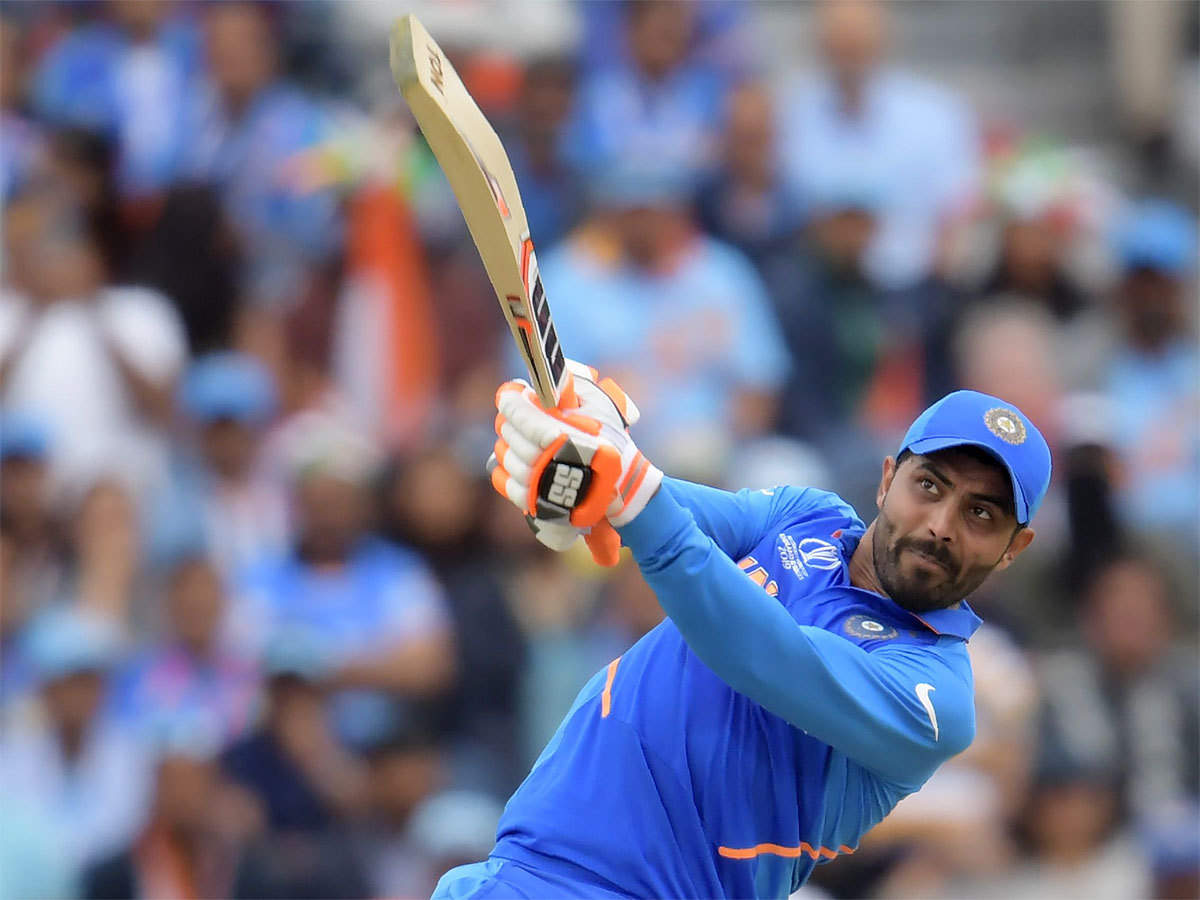 Ravindra Jadeja almost took India to victory against New Zealand at Old Trafford in Manchester. (AFP Photo)
