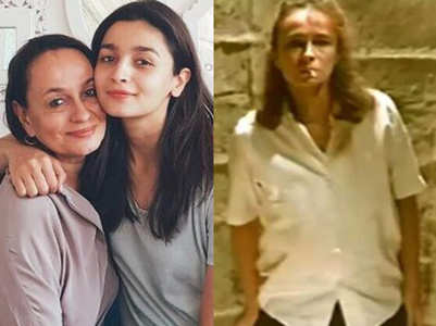 Unaware of her pregnancy, Alia Bhatt's mother was heavily smoking for a role