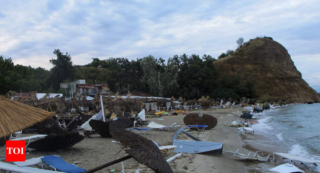 Six tourists killed by tornadoes and hailstorms in Greece