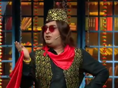 Kapil turns 'Ustaad Medium Begam Ali Khan'