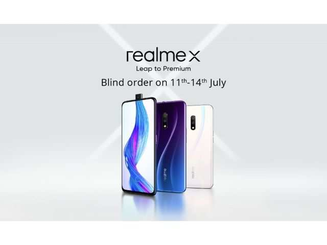 Here's what you will get if you pre-order Realme X smartphone