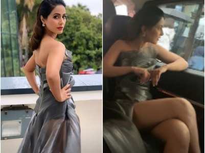 Hina Khan remembers her Cannes outing