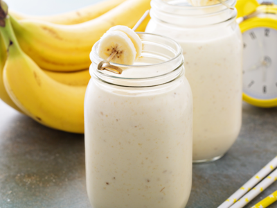 Here's how banana shake helps in weight gain