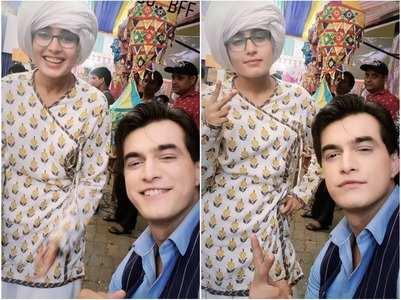 Mohsin Khan shares selfie with Rhea