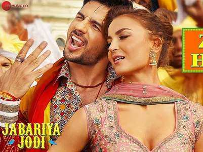 'Jabariya Jodi's' song 'Zilla Hilela' is out