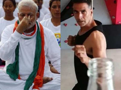PM Modi is the fitness influencer of the year; beats Akshay Kumar