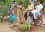 Police officers of Aurangabad conduct tree plantation drive
