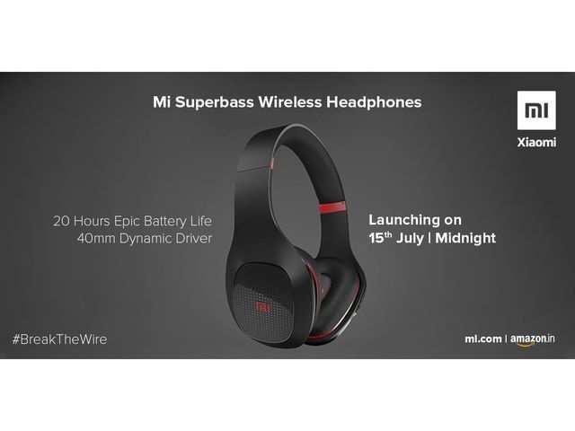 Xiaomi confirms launch date of Mi Superbass wireless headphones in India