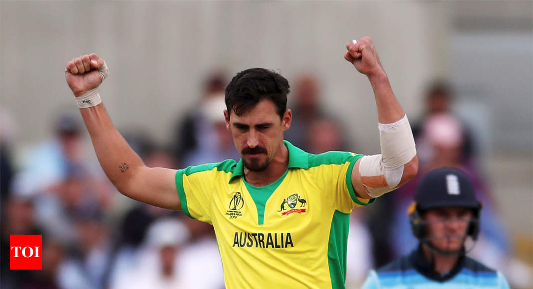 Starc breaks McGrath's record for most wickets in a World Cup