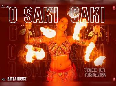 Nora to sizzle in O Saki Saki from Batla House