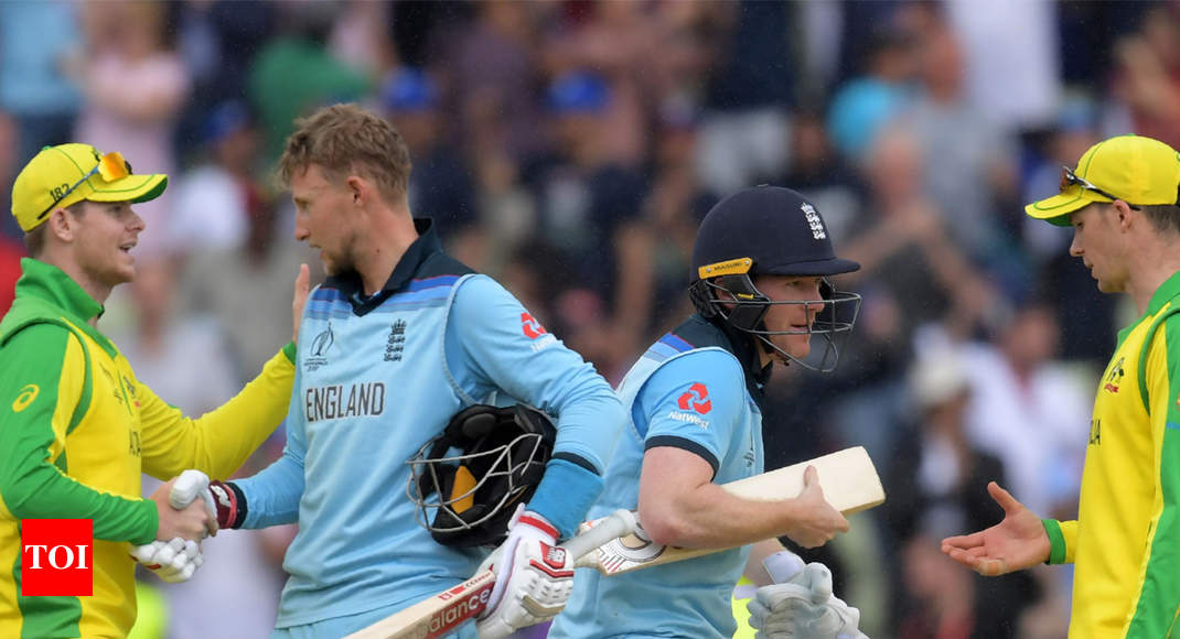England vs Australia, ICC World Cup: Rampant England end Australia's title defence and roar into final -