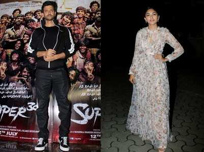 Celebs attend the screening of 'Super 30'