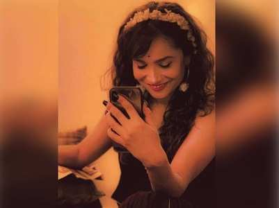 Ankita 's sweet message for her BF Vicky Jain