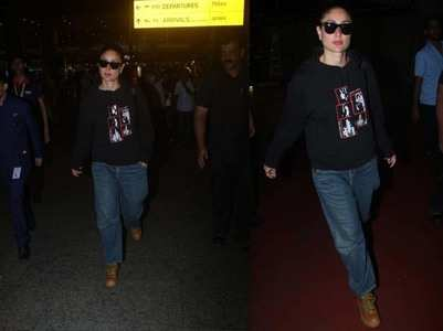 Photos: Kareena is back in Mumbai