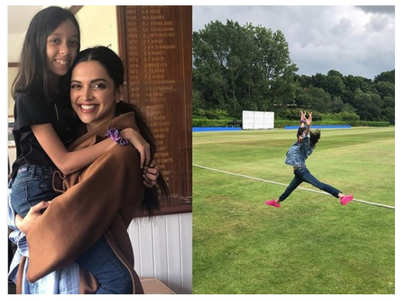 Kabir Khan's daughter bonds with Deepika
