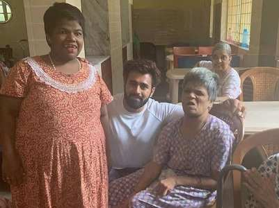 Pearl Puri visits an orphanage on his b'day