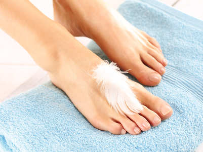 Create your own foot spa at home