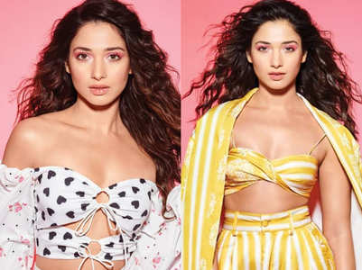 Tamannaah Bhatia shot for her HOTTEST photoshoot ever