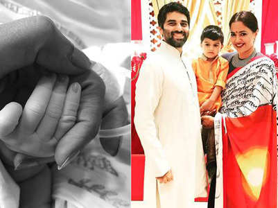 Sameera Reddy blessed with a baby girl