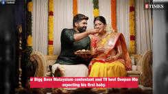 Boeing Boeing host Deepan Murali hosts a baby shower for wife