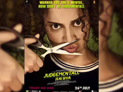Latest posters of 'Judgementall Hai Kya'