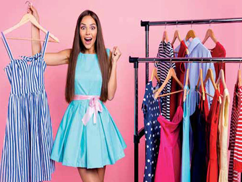 Shop your own closet - Times of India