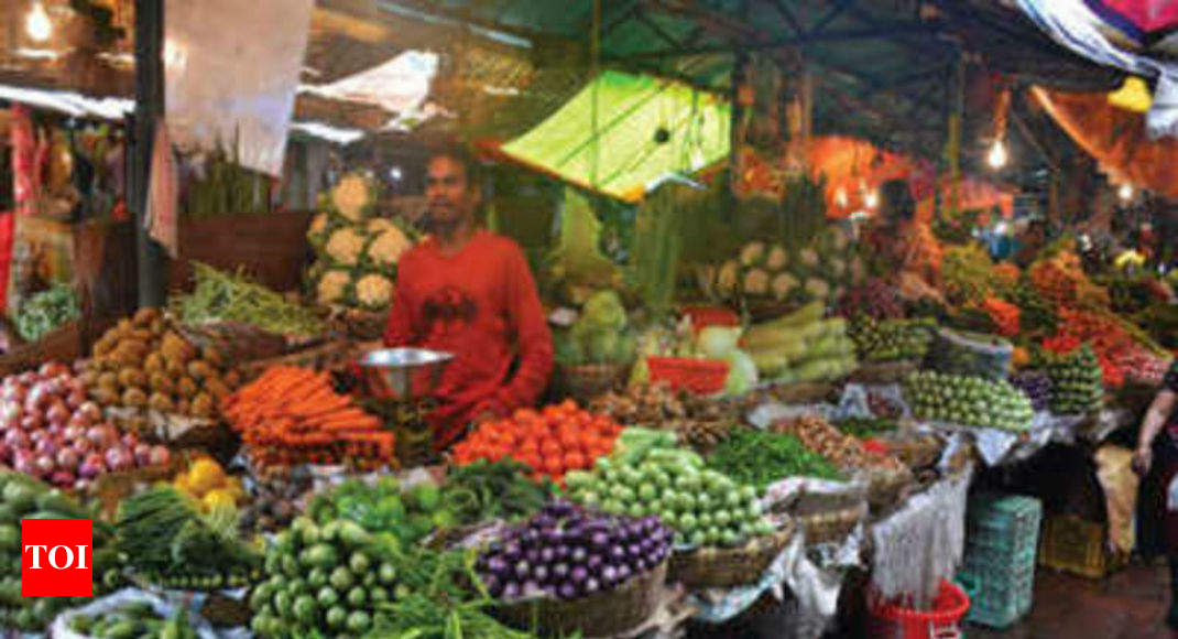 Retail inflation inches up to 3.18% in June; factory output at 3.1% in May - Times of India thumbnail