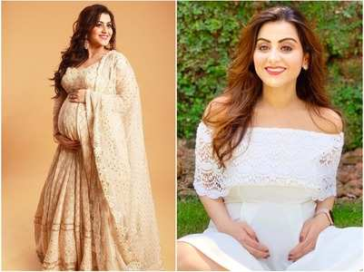 YRKKH fame Priyanka flaunts her baby bump in style