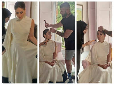 Kareena dolls up for a magazine photoshoot