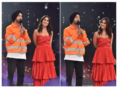 Why is Kareena upset with Diljit Dosanjh?