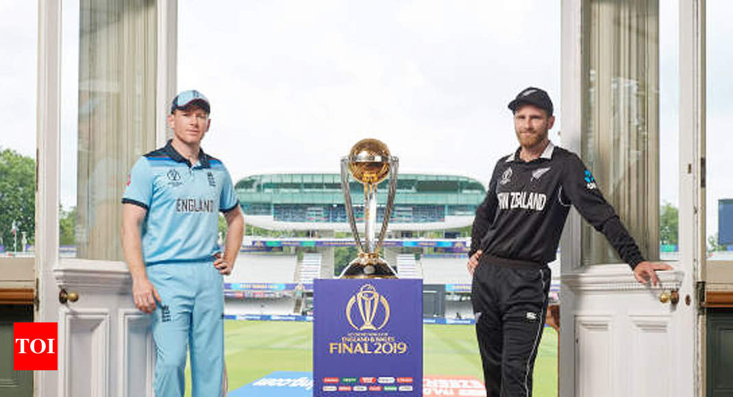 England vs New Zealand Preview, World Cup final: England-New Zealand in battle for maiden World Cup title - Times of India thumbnail