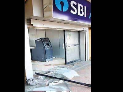 Aurangabad: Thieves uproot ATM with Rs 25 lakh at unguarded kiosk