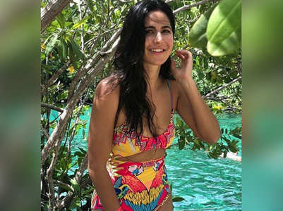 Katrina Kaif sizzles in a colourful monokini