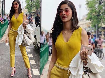 'Pati Patni Aur Woh': Ananya's look leaked
