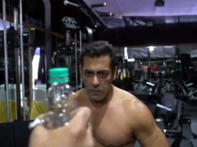 Watch: Salman nails the #BottleCapChallenge