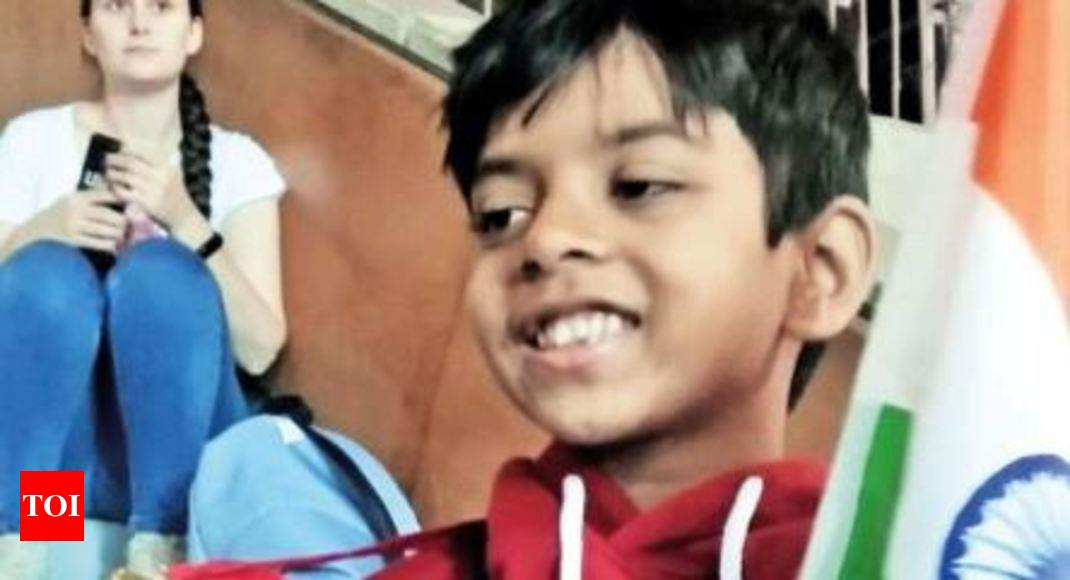 8-year-old cancer survivor bags gold in Moscow   India News - Times of India