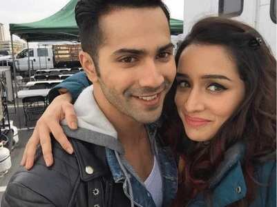 Varun-Shraddha have lunch together with team