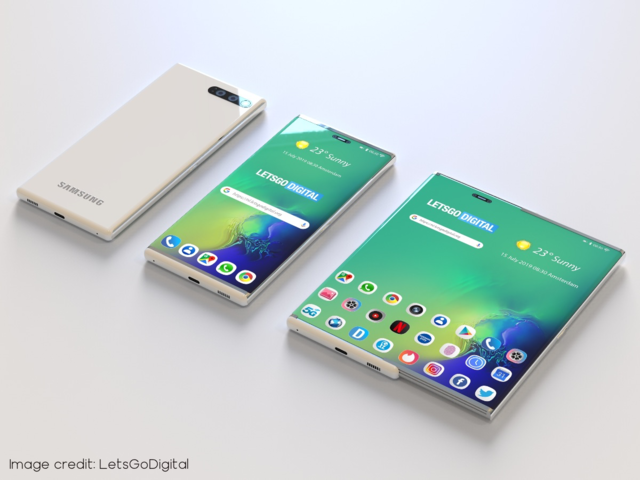 Samsung smartphone with 'retractable' screen, here's what it may look like