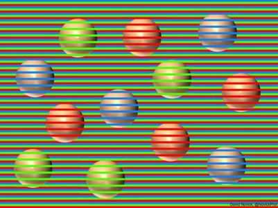 Which colour are these balls? Optical illusion puzzle is back to surprise you!