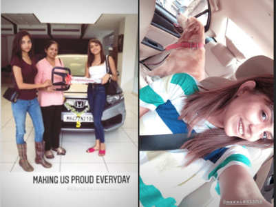 Splitsvilla winner Shruti buys her first car