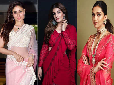 #Sareetwitter: Divas who aced the saree look
