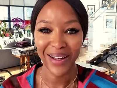 Naomi Campbell's airplane routine can freak you out!