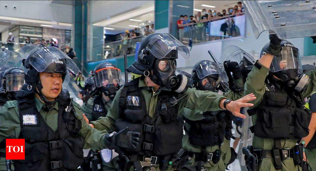 Hong Kong protests challenge China with no end in sight - Times of India